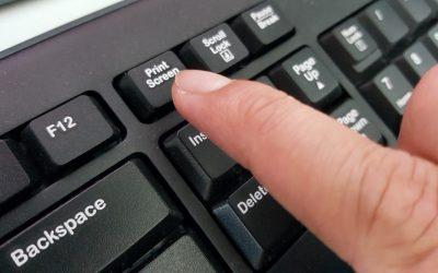 Kako slikati zaslon na laptopu