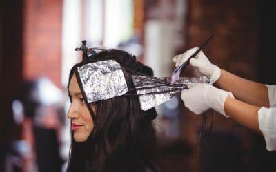 Pramenovi na tamnoj kosi